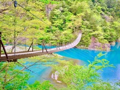 Chinh phục cây cầu treo Yume No Tsuribashi Nhật Bản không dành cho người yếu tim
